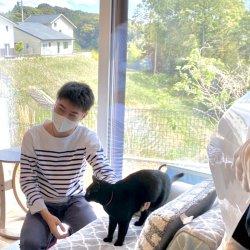 猫ちゃんも健康に暮らしています *OBさん宅見学*