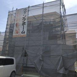 防水シート☆ 袋井市堀越Y様邸