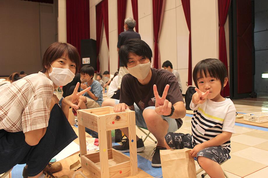 夏休みワクワク木工教室*
