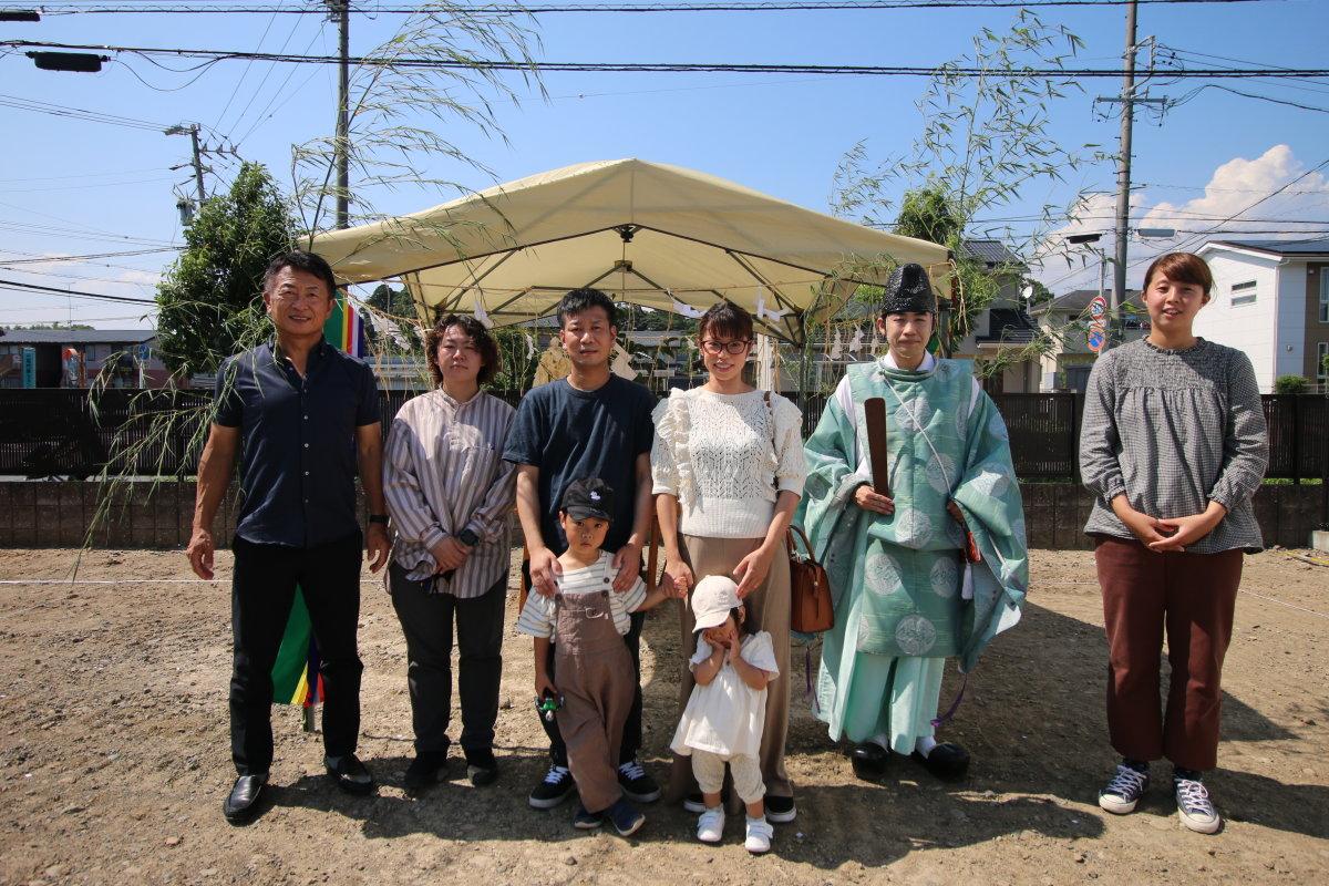地鎮祭を行いました☀  掛川市上屋敷F様邸